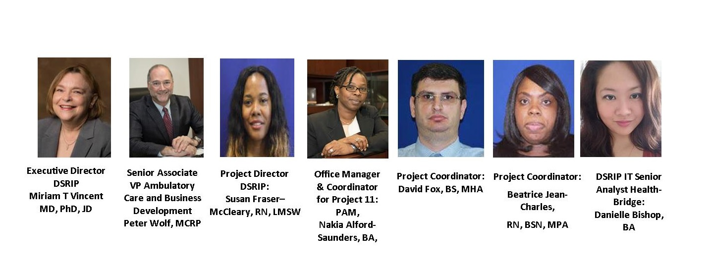 SUNY Downstate's DSRIP Project Management Team